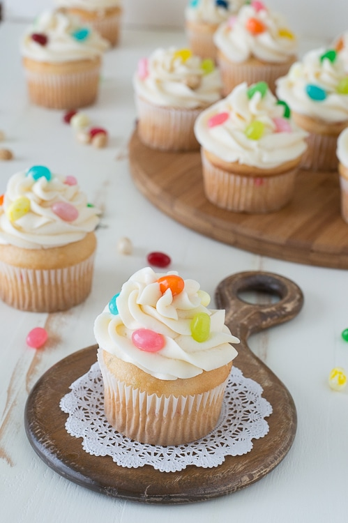 Jelly Belly Jelly Bean Cupcakes