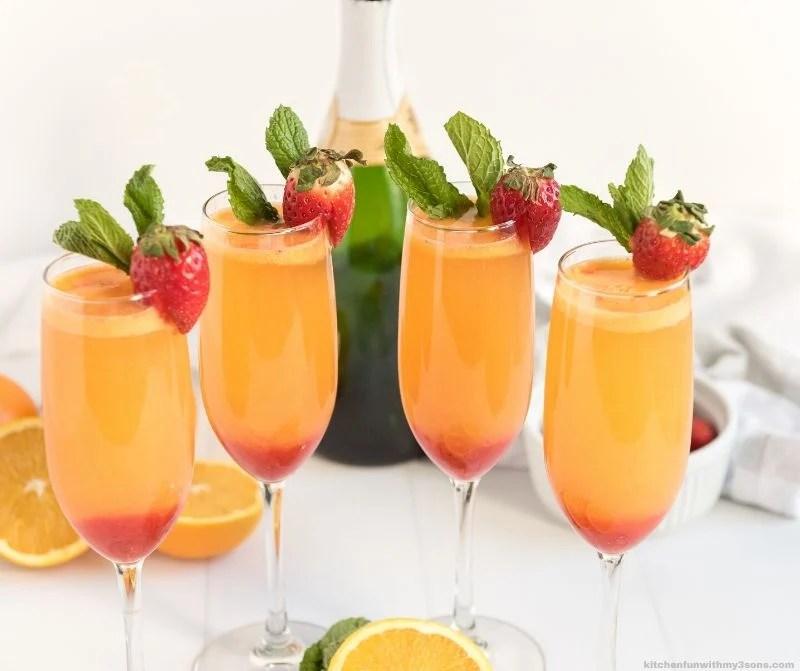 Strawberry Mimosa Recipe