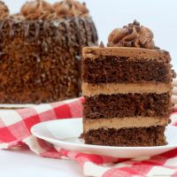 Hershey's Chocolate Cake with Chocolate Cream Cheese Frosting