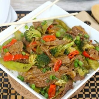 Beef Stir Fry Instant Pot Recipe