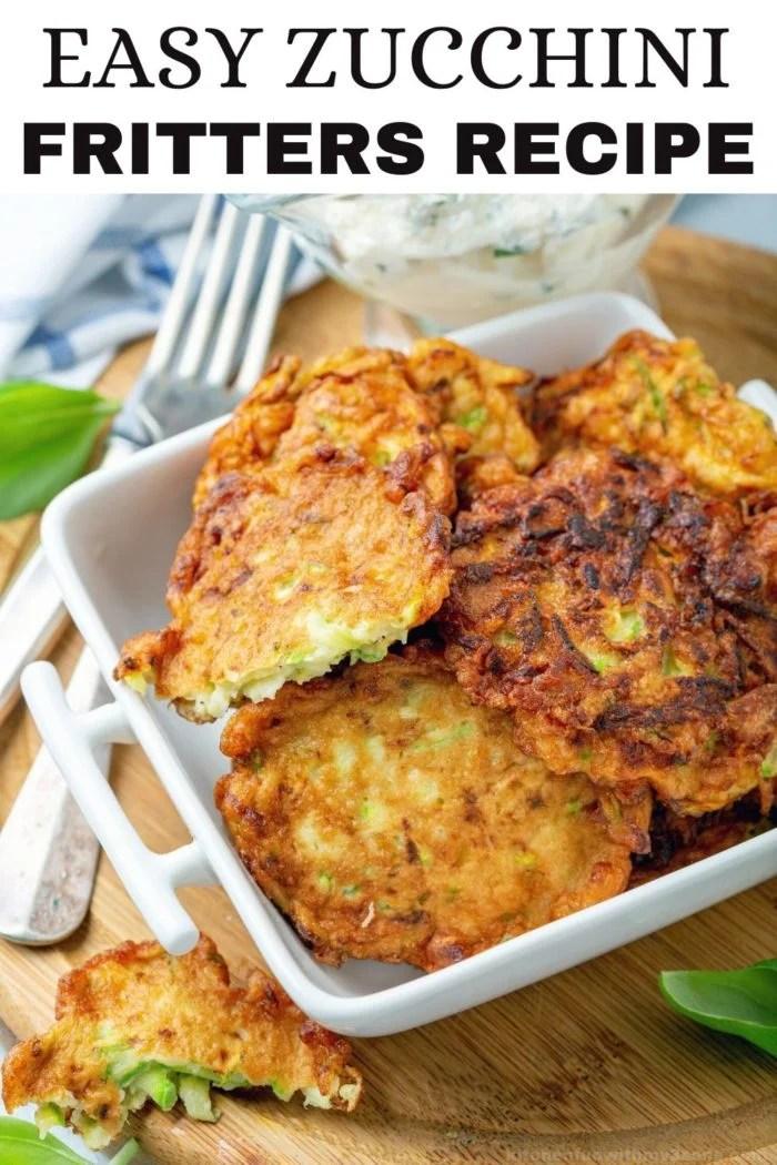 zucchini fritters recipe