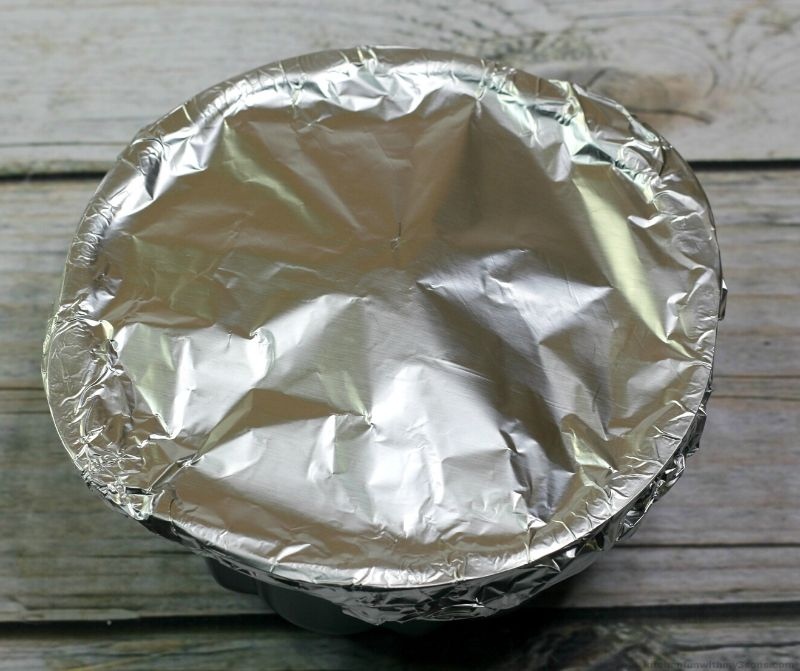 covered bundt cake