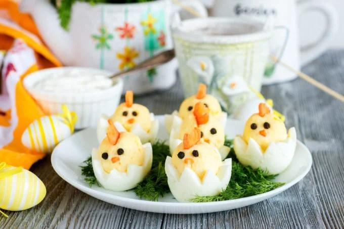 Hard Boiled Egg Chicks