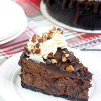New York Fudge Instant Pot Chocolate Cheesecake