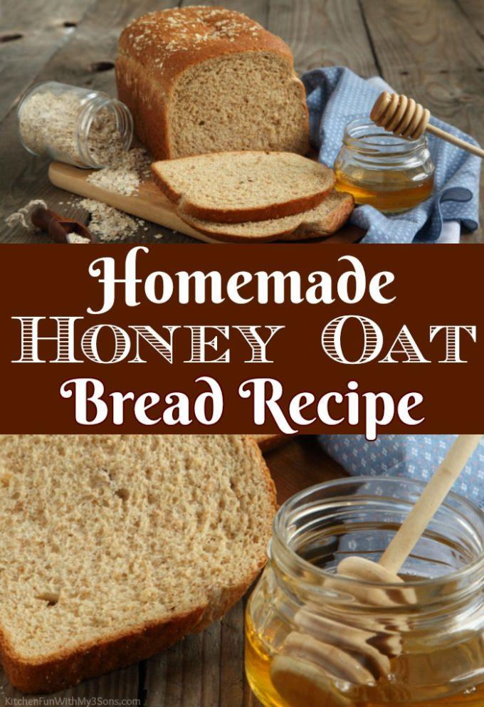 Homemade Honey Oat Bread Recipes