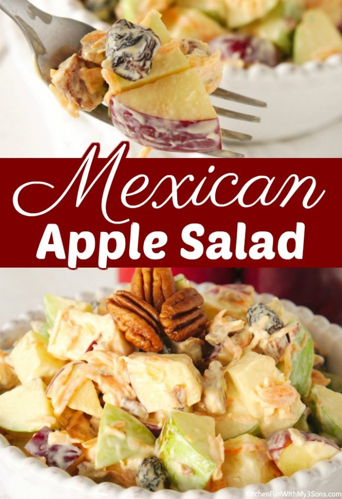 Mexican Apple Salad