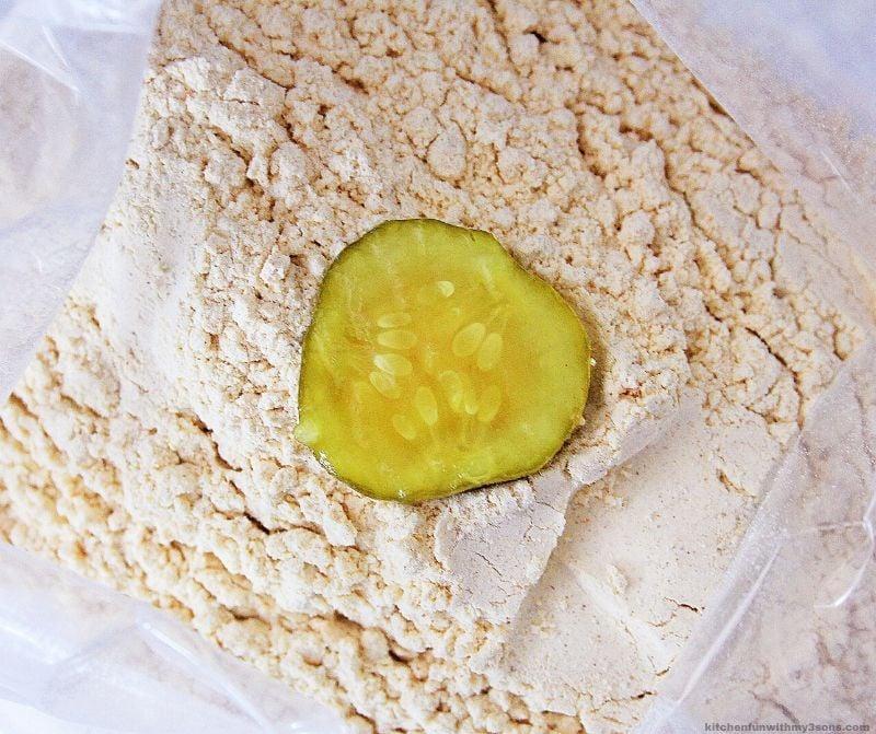 pickle in breading