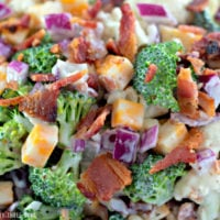 Loaded Broccoli Salad (Low-Carb)