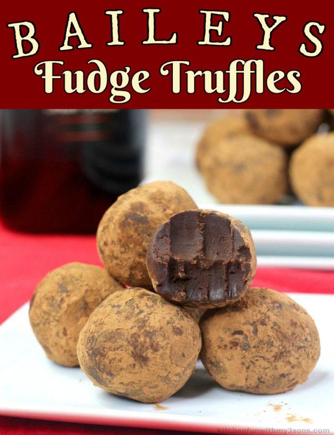 Baileys Fudge Truffles Recipe