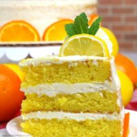 Lemon Orange Cake Recipe