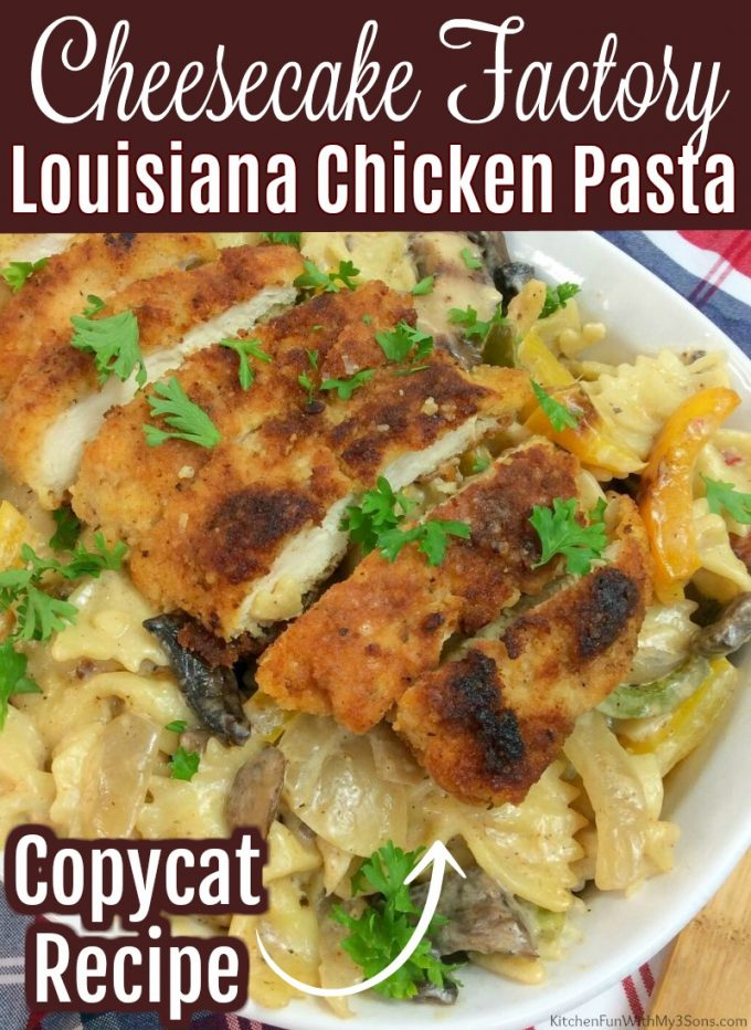 Cheesecake Factory Louisiana Chicken Pasta