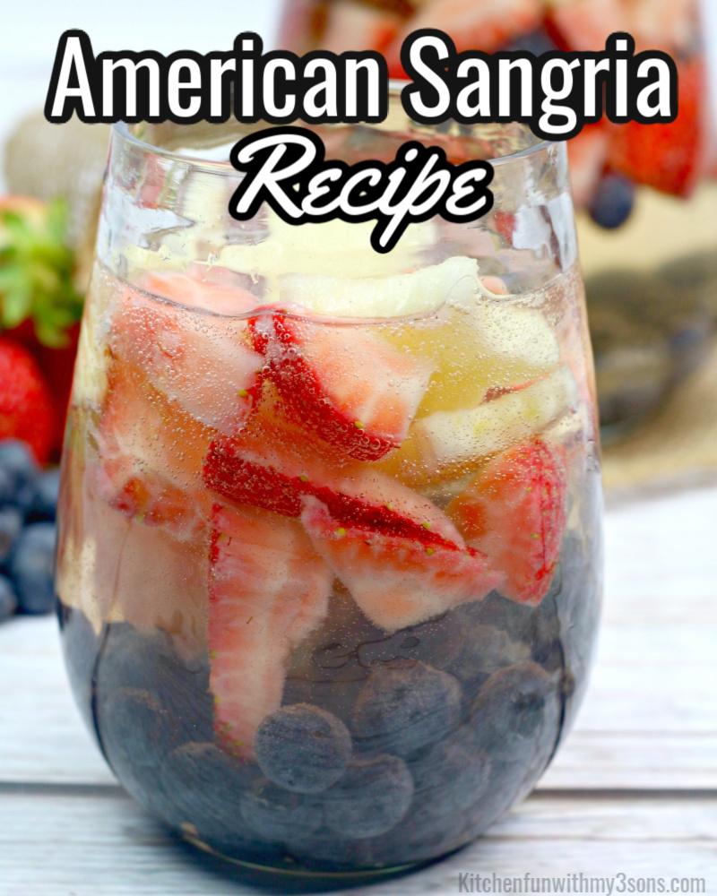 american sangria recipe