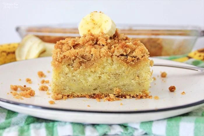 Entenmann's banana crunch cake