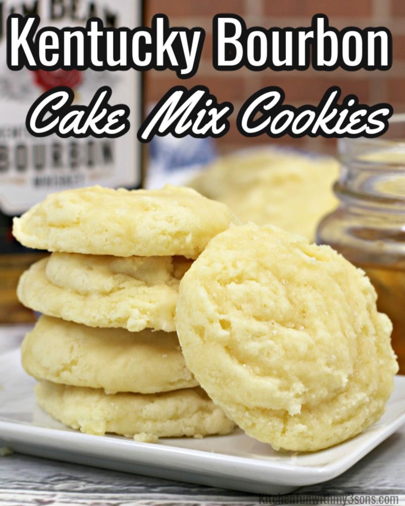 kentucky bournon cake mix cookies