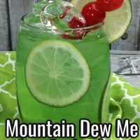 Mountain Dew Me Cocktail