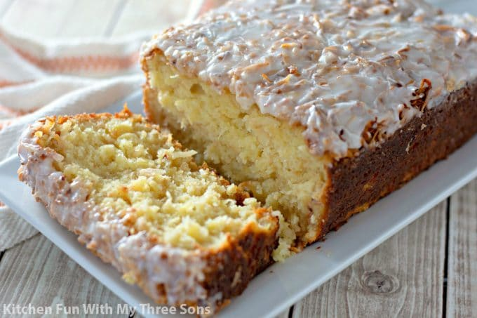 sliced Pineapple Coconut Bread