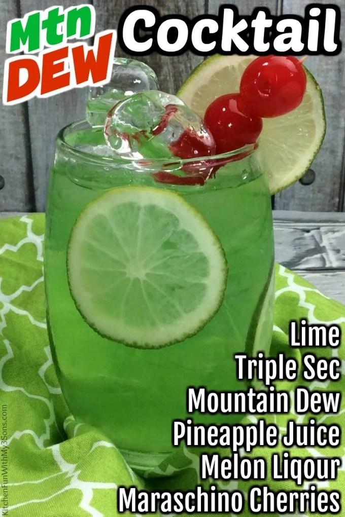 Mountain Dew Cocktail