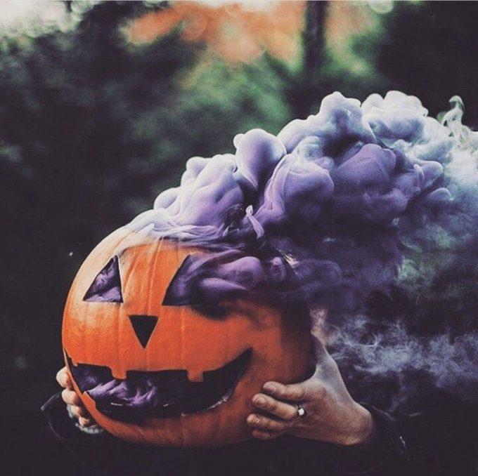 Pumpkin Smoke Bomb