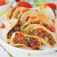 Beef and Cheese Mini Tacos
