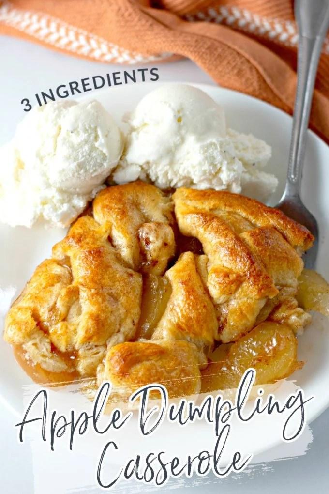 Easy Apple Dumpling Casserole on Pinterest
