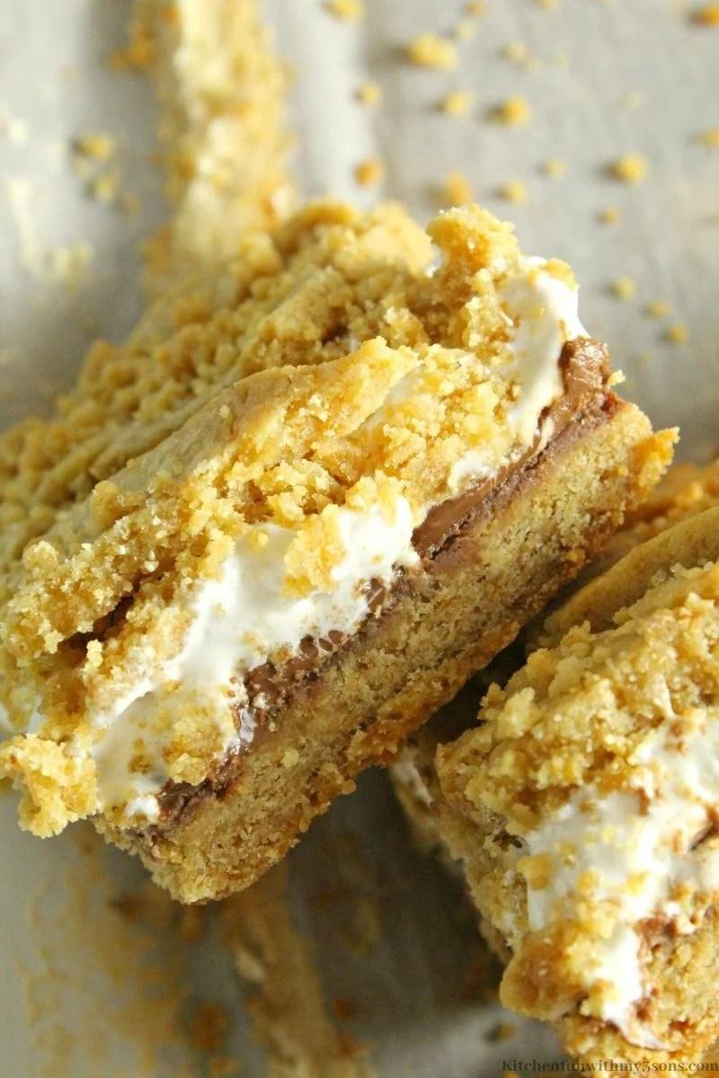 S'Mores Dessert Bar Recipe