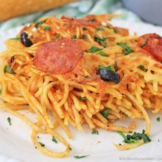 Air Fryer Loaded Pizza Pasta