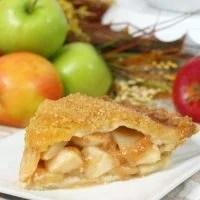 Bourbon Apple Pie