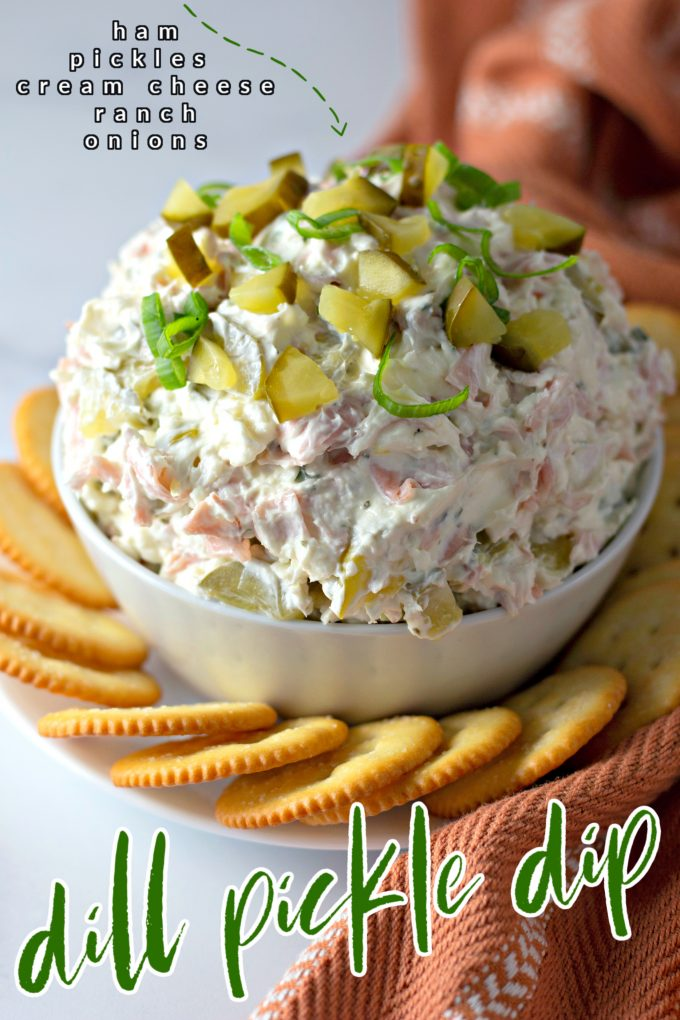 Dill Pickle Dip on Pinterest