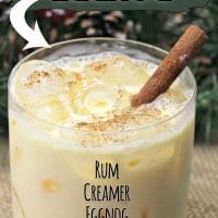 Amaretto Eggnog Cocktail