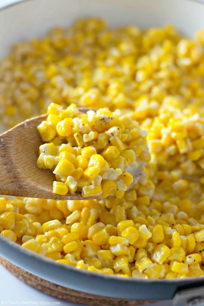Honey Butter Skillet Corn