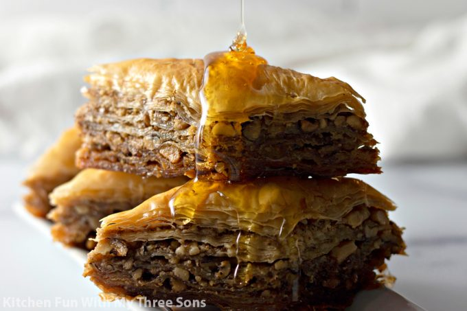 Easy Baklava Recipe Kitchen Fun With My 3 Sons
