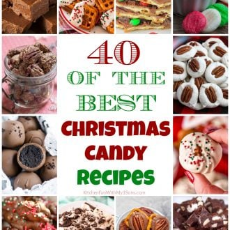 40 of the BEST Christmas Candy Recipes