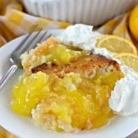 Magic Lemon Cobbler