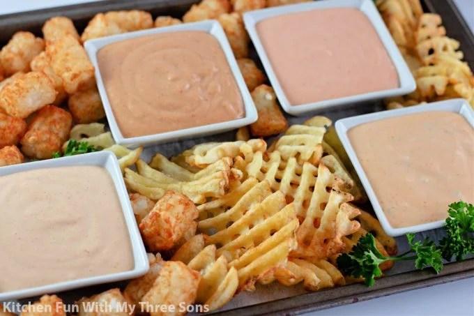 Fry Sauce 4 Ways.