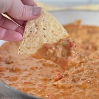 Rotel Dip with Ground Beef