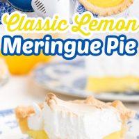 How to Make the Classic Lemon Meringue Pie