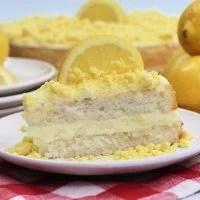 Lemon Creme Cake