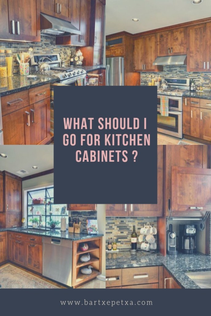 What Should I Go for Kitchen Cabinets?