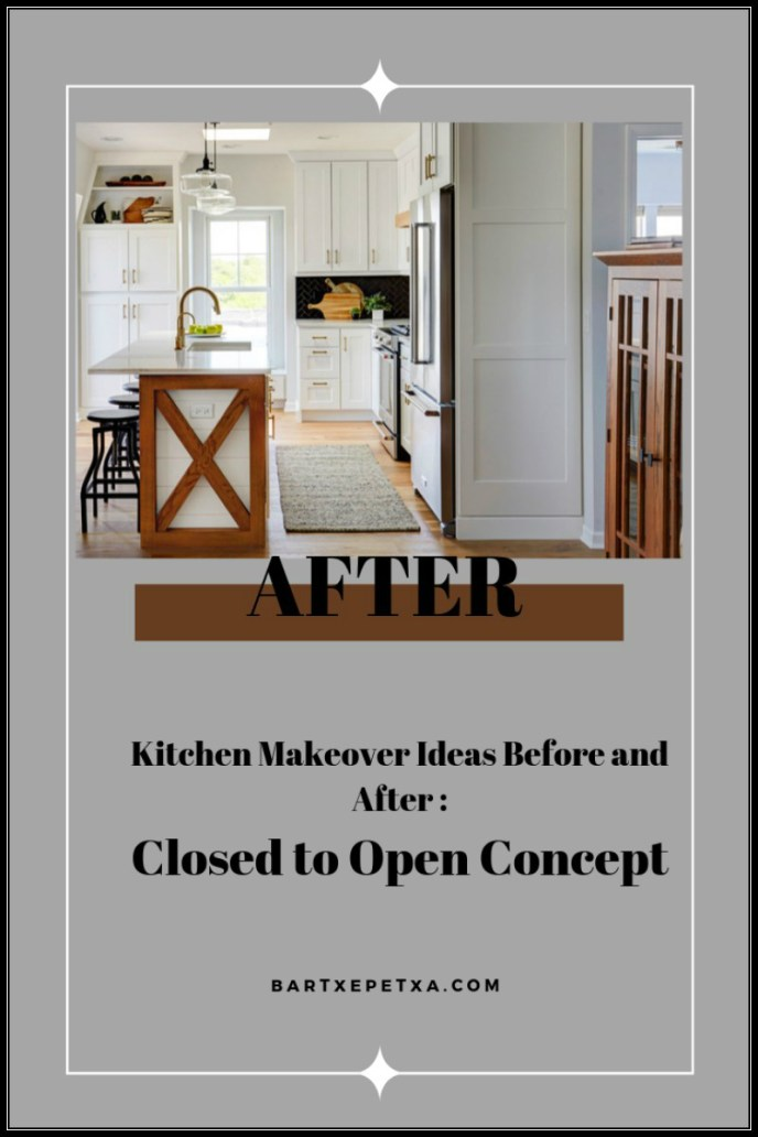 Closed to Open Concept