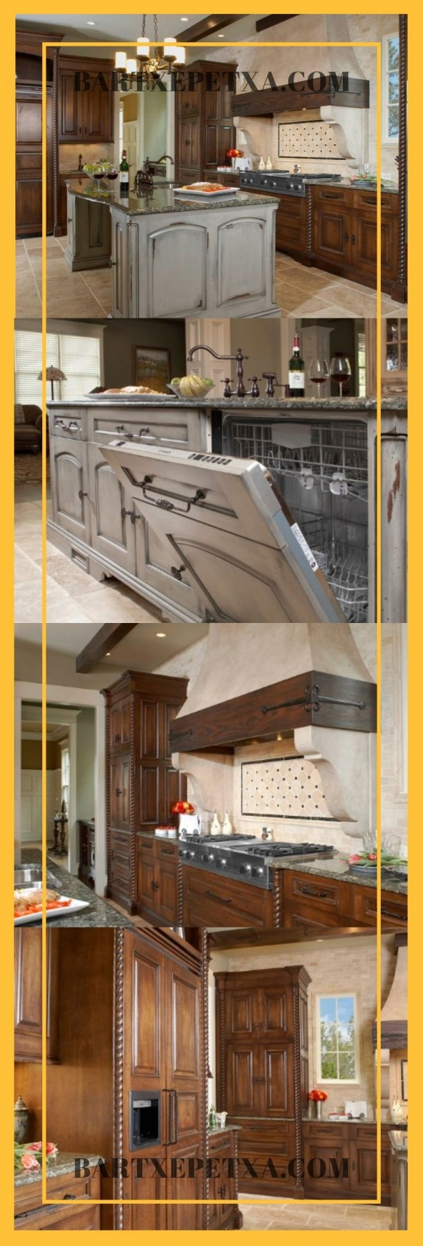 rustic ideas for kitchen