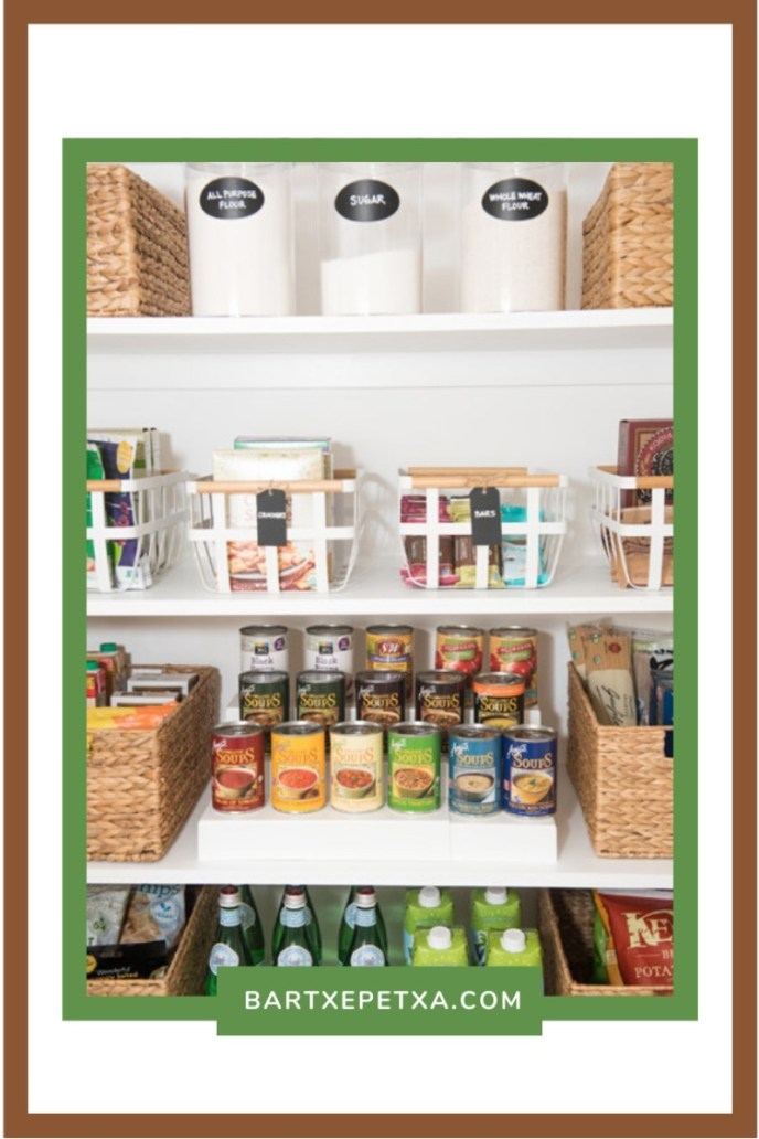 Pantry Container for Processed food