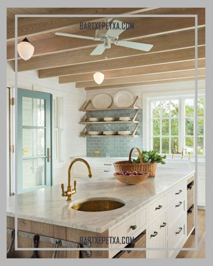 country kitchen ceiling fans