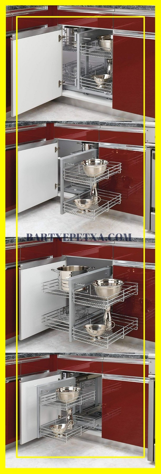 kitchen cabinet organizers at lowes