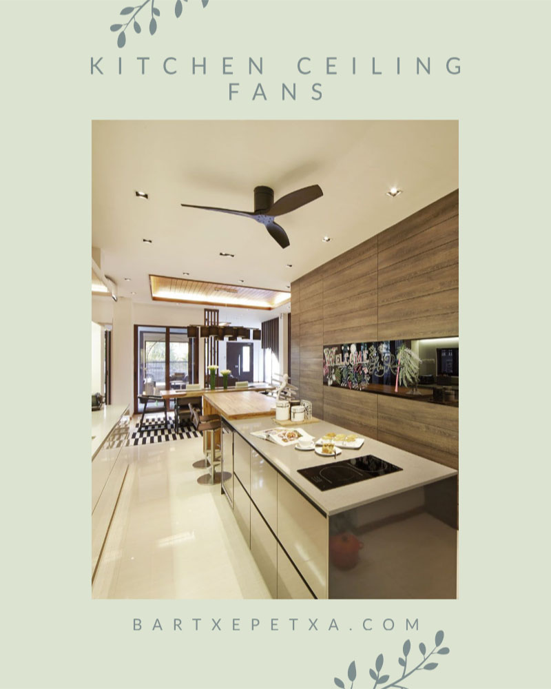 Kitchen Ceiling Fans (Cool and Classic Design of Ceiling Fans)