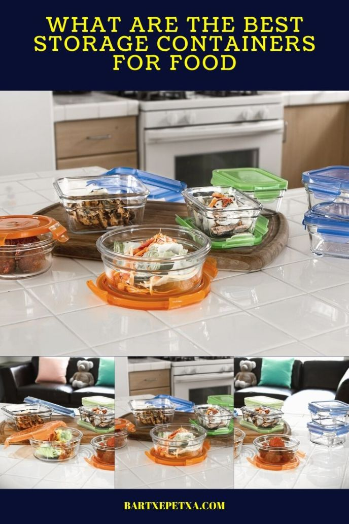 stackable kitchen storage containers