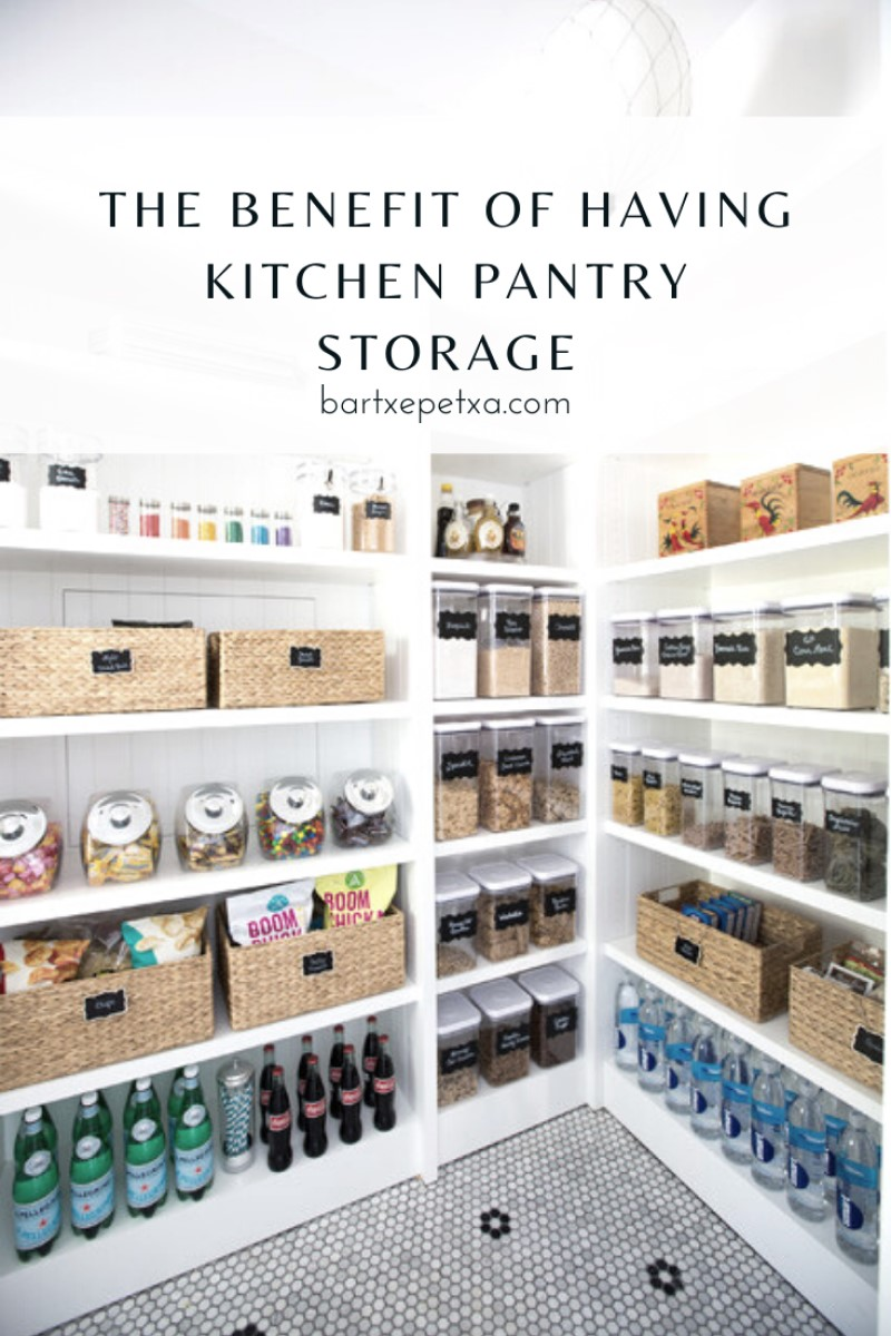 Kitchen Pantry Storage (Benefit and the Best Way to Organize a Pantry)
