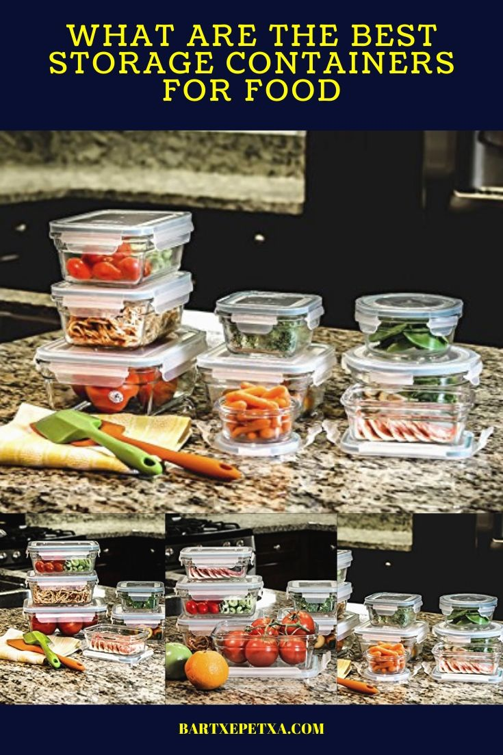 Kitchen Storage Containers (Glass, Plastic, and Stainless Steel Containers)