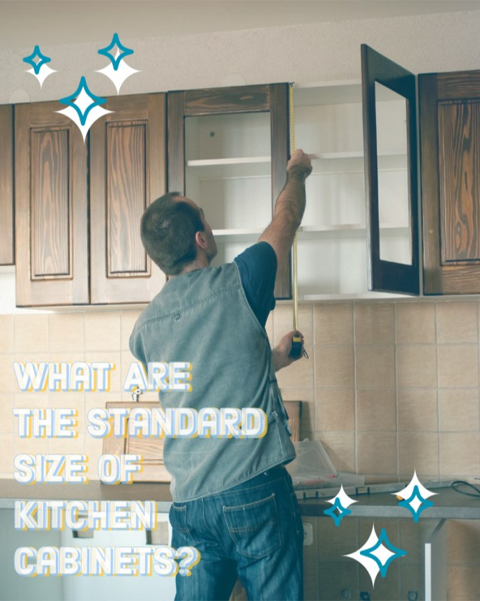 What are standard size kitchen cabinets?