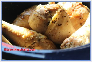 Crockpot BBQ & Sweet Tea Chicken Drumsticks
