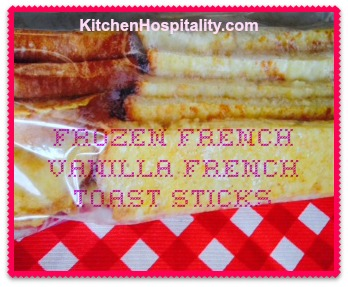 Freezer French Toast Sticks